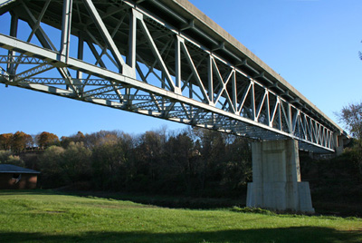 Pa State Inspection >> exploreJeffersonPA.com – Replacement of Last Remaining Truss Bridge in Jefferson County Starts ...