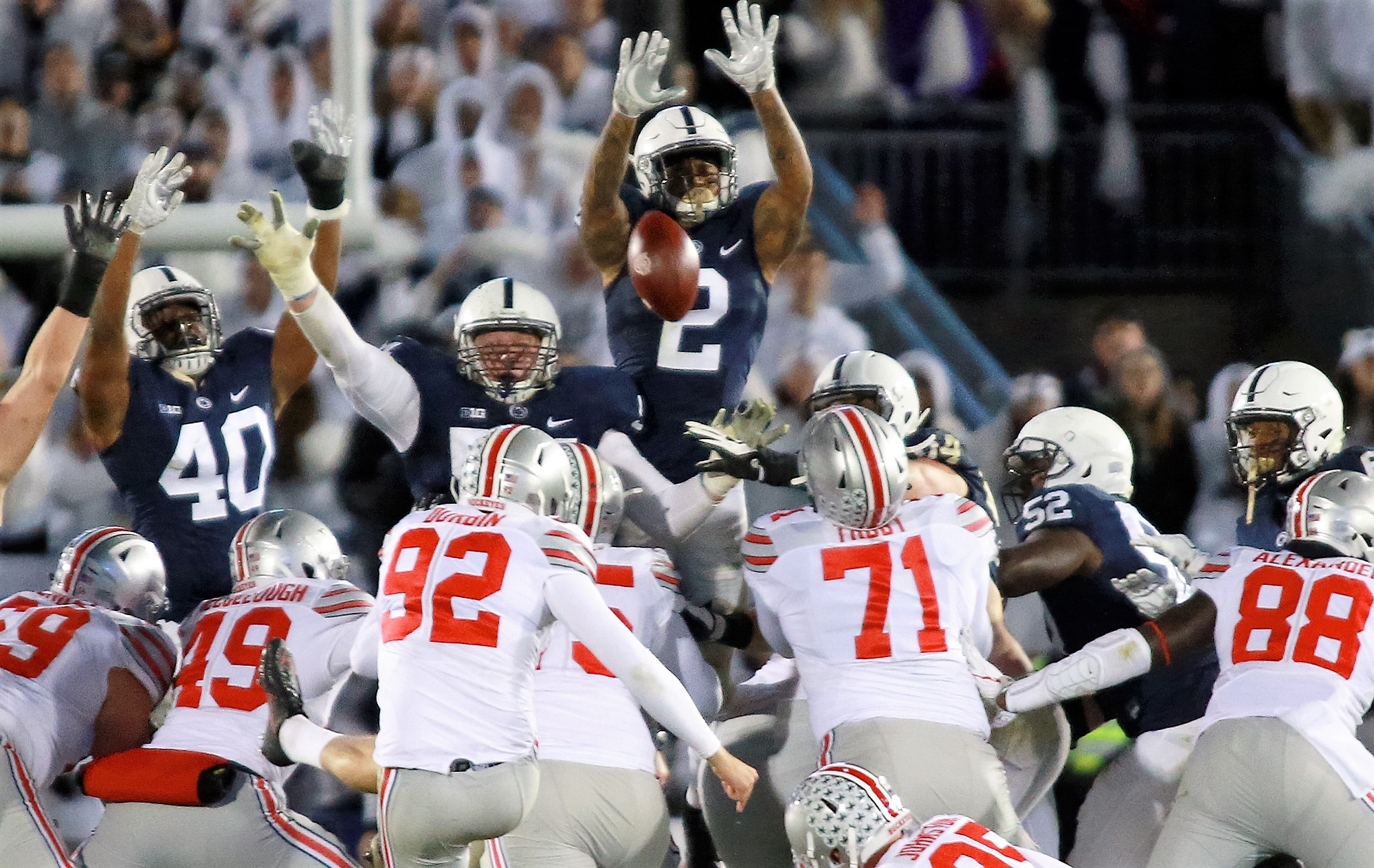 Penn State Earns First National Ranking Since 2011; Nittany Lions in at No. 24 in AP Top 25