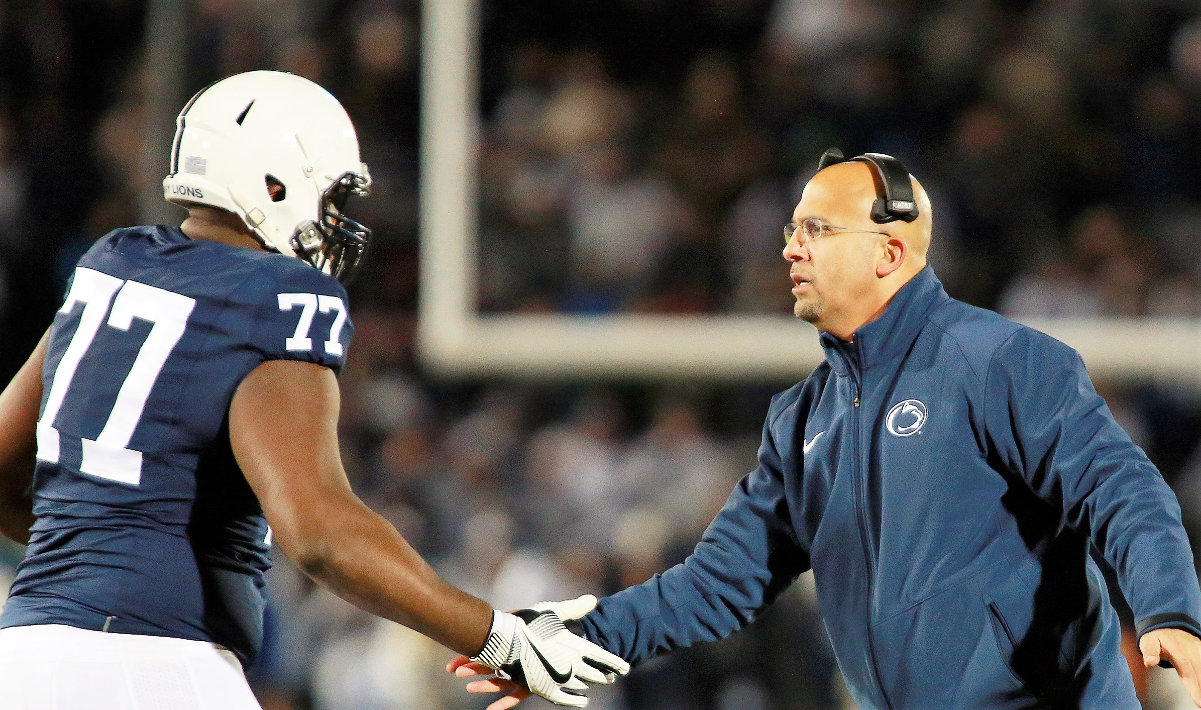Penn State's Franklin Named Sporting News Coach of the Year
