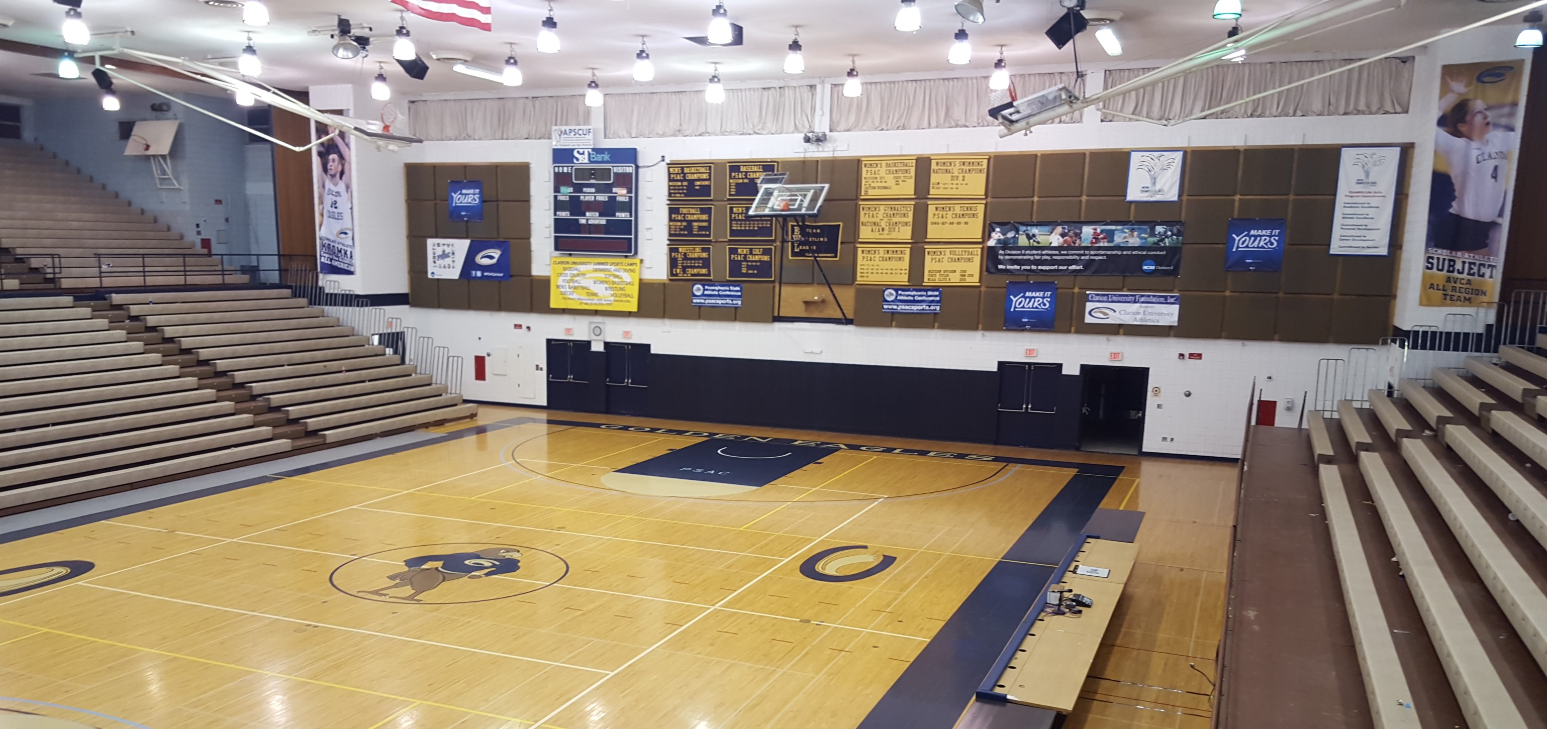 Clarion U S Tippin Gym Project Moves Slowly Forward With