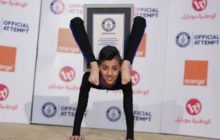 Say What?!: 13-Year-Old Palestinian 'Spider Boy' Sets Contortion World Record