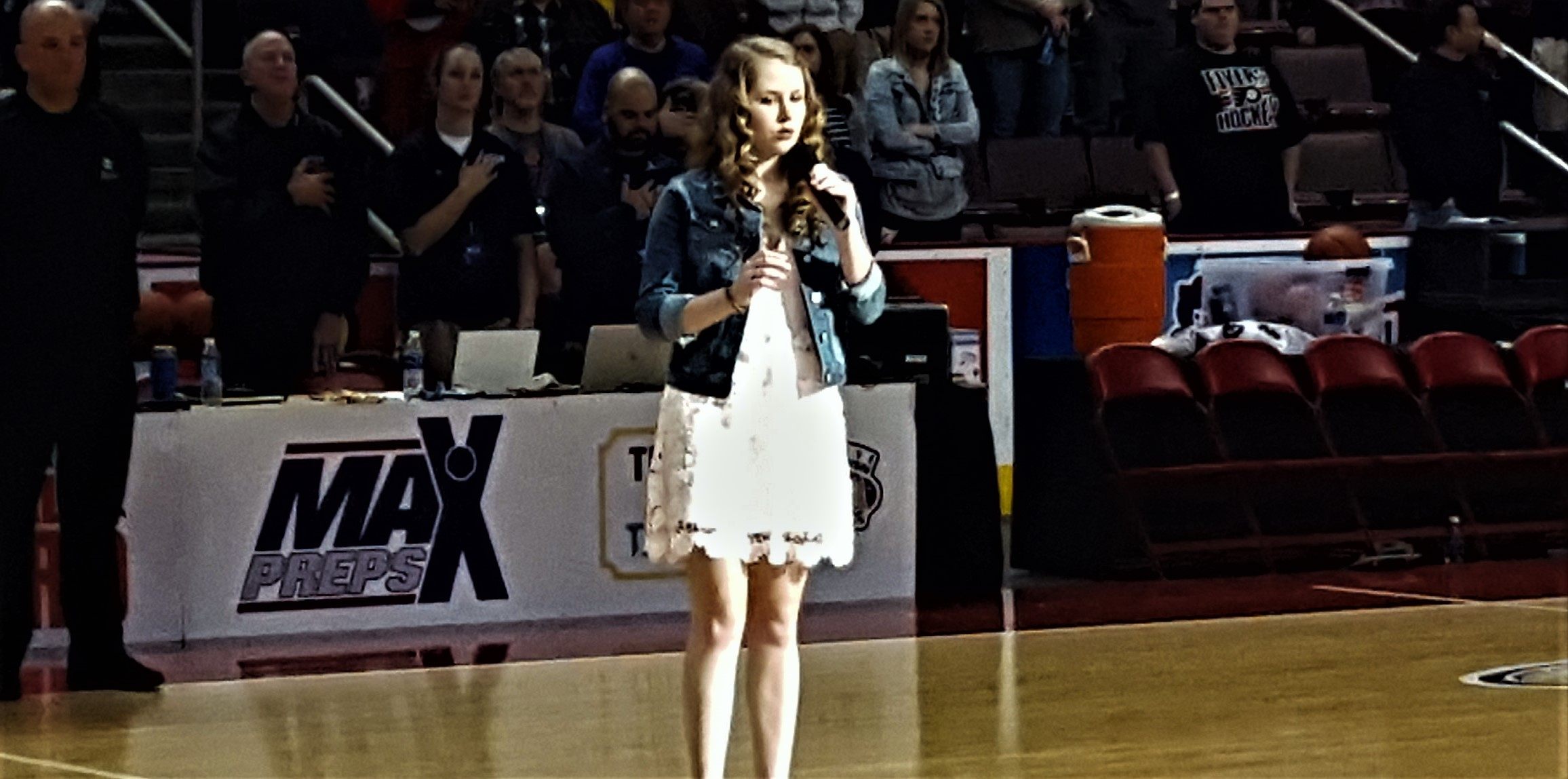 Brockway's Faith Sings Anthem at PIAA Championships – With Video