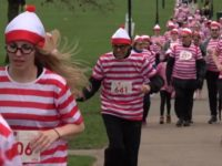 Say What?!: Thousands Don Red and White for 'Where's Waldo?' Fun Run in London