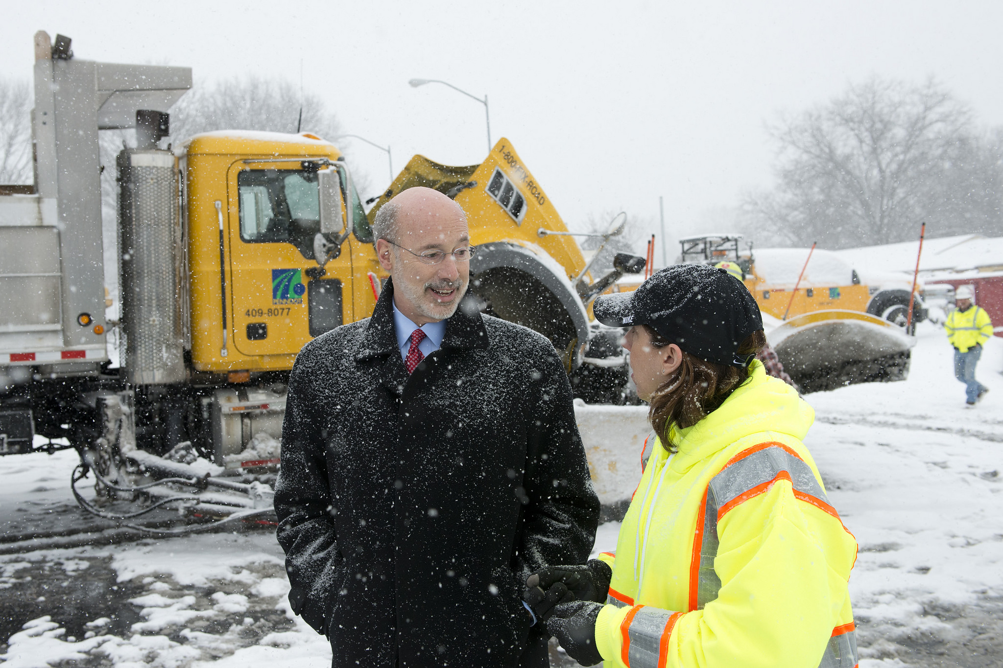 Gov. Wolf Announces Emergency Travel Restrictions Ahead of Winter Storm