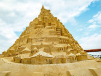 Say What?!: World's Tallest Sandcastle Built in Germany