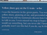 Say What?!: Billboard Seeks Valentine's Connection With 'Yellow Shoes Guy'