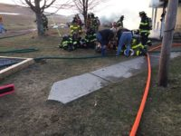 Fire Companies Battle Blaze, Save Three Dogs in Sandy Twp.