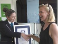 Say What?!: Speed Texting Woman Breaks Guinness Record in France