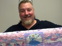 Marine Makes Quilts to Overcome PTSD