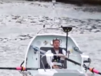 Say What?!: Man Rows Atlantic in Under 40 Days, Breaking World Record