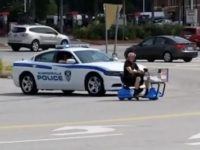 Say What?!: Man on Stolen Walmart Scooter Leads Police on Low-Speed Chase