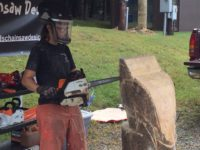 Chainsaw Carvers' Round-Up Continues This Weekend at Sawmill Center for the Arts