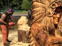 Chainsaw Carvers' Round-Up Kicks Off Today in Cook Forest