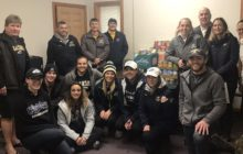 Clarion U. Athletes Donate to Local Food Bank