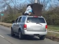 Say What?!: Ohio Driver Captures Video of Dangerous Couch Moving Method