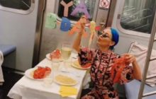 Say What?!: Unusual Birthday Party Held Aboard Subway Train