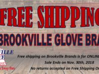 SPONSORED: Take Advantage of FREE Shipping on Brookville Glove Products