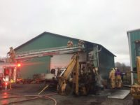Crews Battle New Year's Day Structure Fire in Forest County