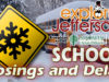 School Closings, Delays, and Early Dismissals for Wednesday, February 20, 2019