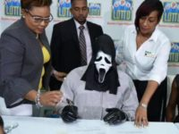 Say What?!: Lottery Winner Hides Identity with 'Scream' Mask