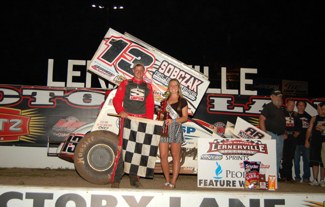 Brandon Matus swept Lernerville and Mercer over the weekend, taking home over $5,000.