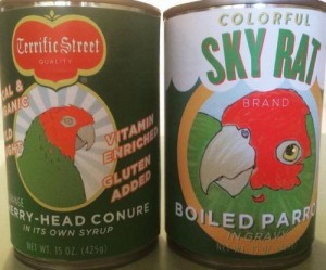 Cans-of-Boiled-Parrot-ruffle-feathers-in-San-Francisco