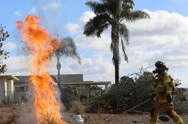 Firefighters-cook-a-turkey-wrong-set-it-on-fire-at-Marine-Corps-station