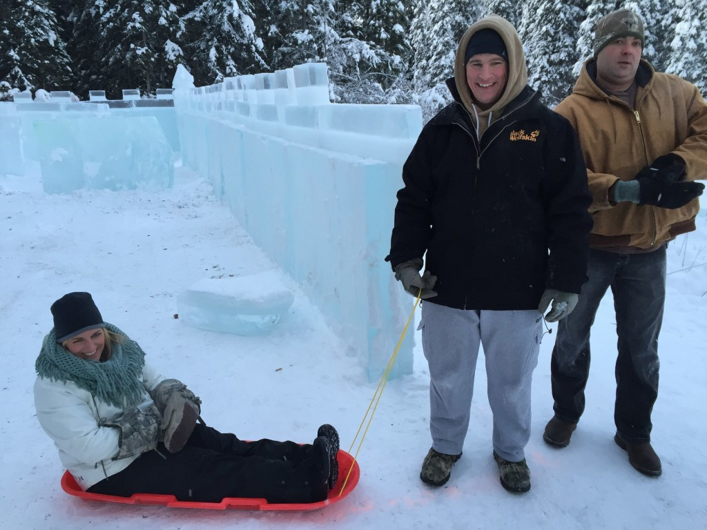 Wounded Warrior Project Christmas Ice