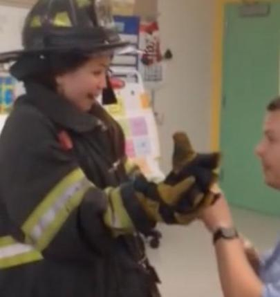 New-York-firefighter-proposes-to-teacher-during-school-visit