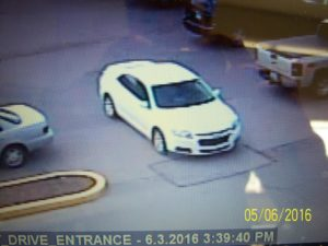 6:9:16 attempt to ID car
