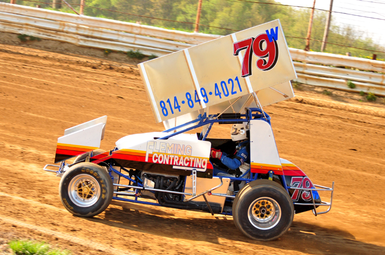 Will Fleming is becoming the driver to beat at Thunder Mountain Speedway collecting another win Friday night