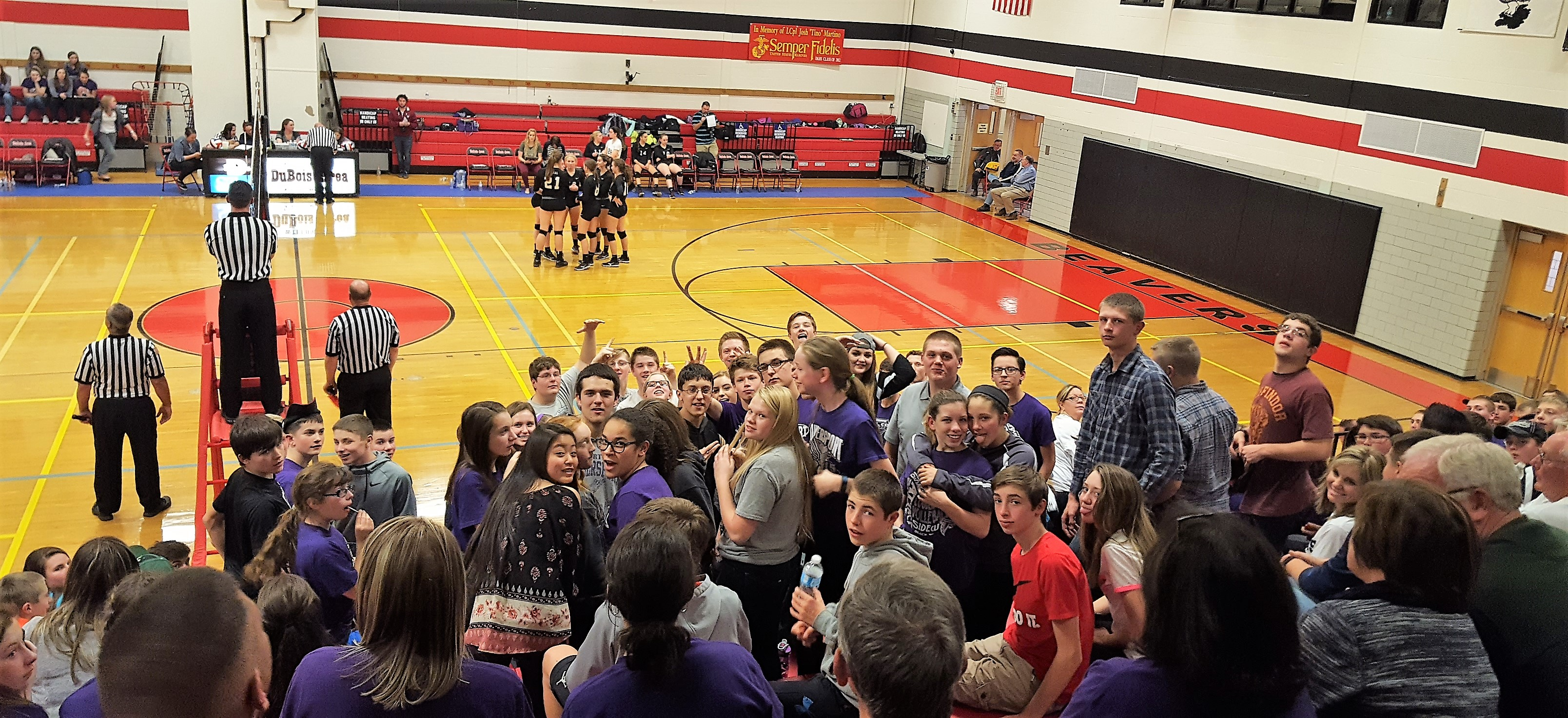 coudersport-student-section