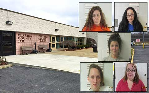 exploreJeffersonPA com – Five Clarion County Women Charged in Drug