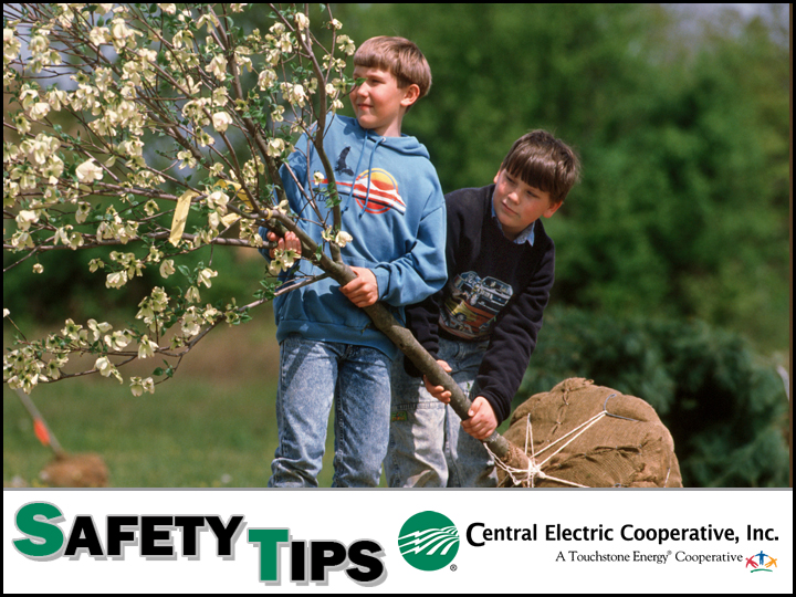 April Safety Tip