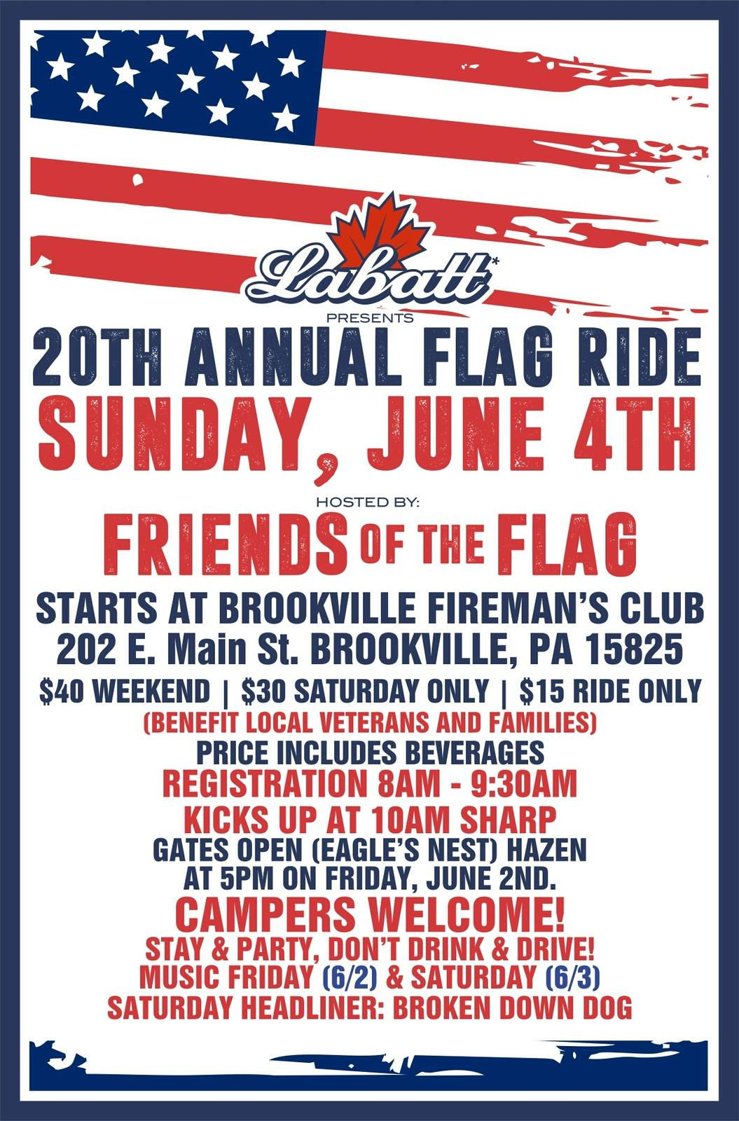 friends of the flag flier