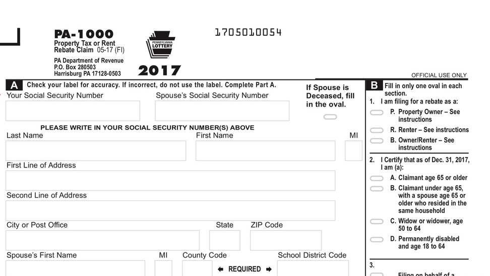 pa tax id number look up