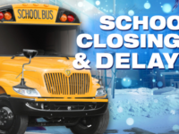 School Closings and Delays for Monday, February 22, 2021