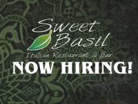 Featured Local Job: Multiple Positions at Sweet Basil