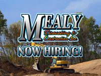 Featured Local Job: Several Positions at Mealy Excavating