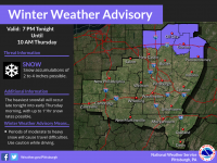 WEATHER ALERT: Winter Weather Advisory Issued for Jefferson County