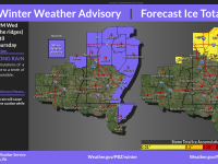 WEATHER ALERT: Freezing Rain, Ice Accumulation Forecasted for Jefferson County