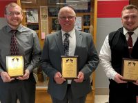 Four New Members Were Inducted into District 9 Wrestling Hall of Fame