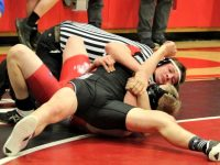 Three Brookville Wrestlers Win NW Region Crowns Saturday
