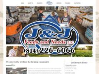 SPONSORED: Check Out J&J Feeds and Needs New & Improved Website!