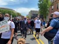 Pa. Gov. Tom Wolf Marches with George Floyd Demonstrators in Harrisburg