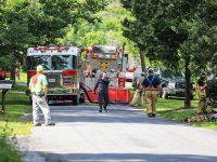 Multiple Fire Departments Respond to House Fire in Farmington Township