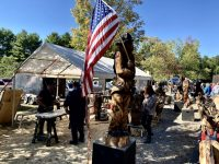Sawmill Center for the Arts Hosts Cook Forest Chainsaw Carvers' Round-Up