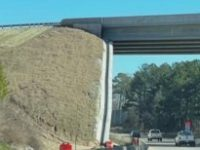 Say What?!: N.C. Transport Officials: Flyover Bridge Wall Is Not Leaning, Despite Illusion