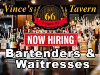Featured Local Job: Bartender and Waitress