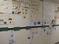Hickory Grove Students Display Projects on the Life of Ben Franklin